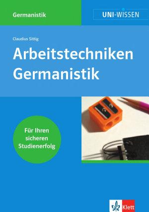 Arbeitstechniken Germanistik PDF