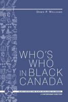 Who s who in Black Canada PDF