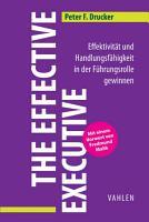 The Effective Executive PDF