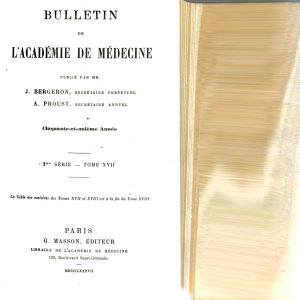 Bulletin de l Academie de m  decine PDF