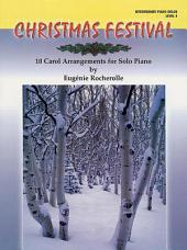 Christmas Festival, Level 4: 10 Carol Arrangements for Solo Piano