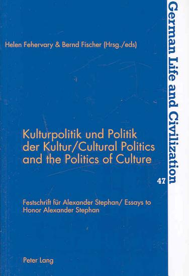 Cultural politics and the politics of culture PDF