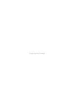 Federal Regulation of the Chemical Industry PDF