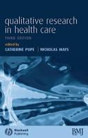 Qualitative Research in Health Care PDF