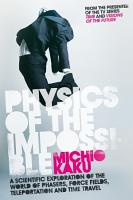 Physics of the Impossible PDF