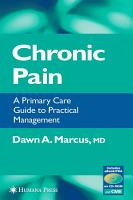 Chronic Pain PDF