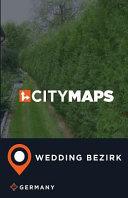 City Maps Wedding Bezirk, Germany