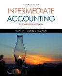 Intermediate Accounting  Reporting and Analysis