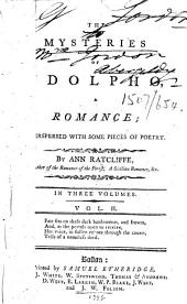 The Mysteries of Udolpho: A Romance; Interspersed with Some Pieces of Poetry
