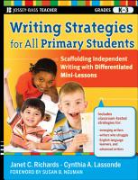 Writing Strategies for All Primary Students PDF