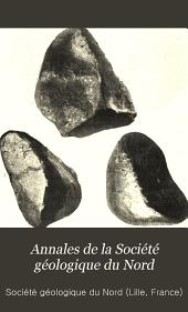 Annales de la Société géologique du Nord: Volume36