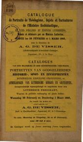 Veilingcatalogus, boeken, 28 februari-1 maart 1866