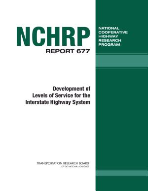 Development of Levels of Service for the Interstate Highway System PDF
