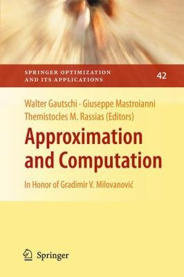 Approximation and Computation