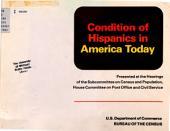 Condition of Hispanics in America today