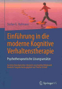 Einf  hrung in die moderne Kognitive Verhaltenstherapie PDF