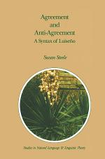 Agreement and Anti-Agreement