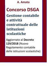 Concorso DSGA - La gestione contabile e l'attività contrattuale delle istituzioni scolastiche