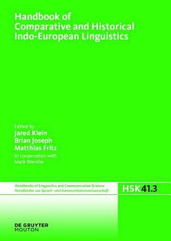 Handbook of Comparative and Historical Indo European Linguistics PDF