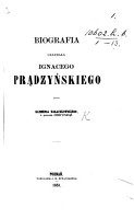 Biografia Genera  a I  Pr  dzy  skiego PDF