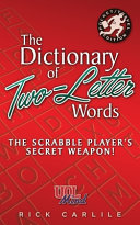 The Dictionary of Two Letter Words   The Scrabble Player s Secret Weapon