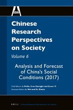 Chinese Research Perspectives on Society, Volume 6