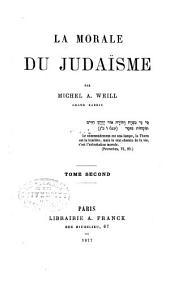 La morale du judaísme: Volume2