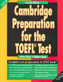 Cambridge Preparation for the TOEFL Test Student s book PDF