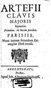 Clavis majoris sapientiae