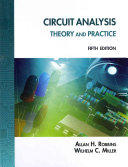 Circuit Analysis  Theory and Practice PDF