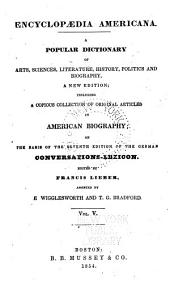 Encyclopædia americana: a popular dictionary of arts, sciences, literature, history, politics and biography, Volume 5
