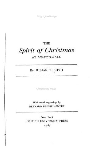 The Spirit of Christmas at Monticello