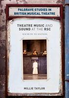 Theatre Music and Sound at the RSC PDF