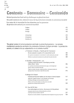 Animal Production Food Safety Challenges in Global Markets PDF
