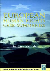 European Human Rights Case Summaries PDF