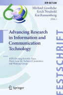 Advancing Research in Information and Communication Technology