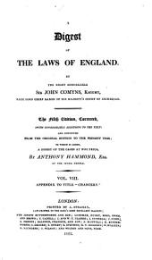 A Digest of the Laws of England: Volume 6