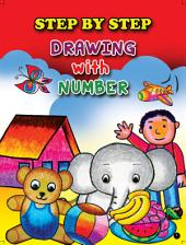 STEP BY STEP DRAWING WITH NUMBER