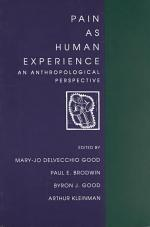 Pain as Human Experience
