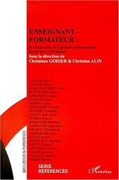 ENSEIGNANT-FORMATEUR : la construction de l'Identité professionnelle: Recherche et Formation