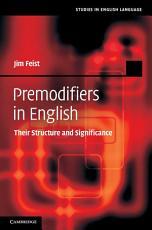 Premodifiers in English PDF