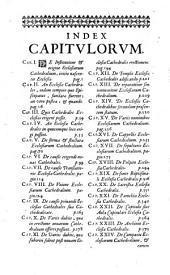 De ecclesiis cathedralibus earumque privilegiis et praerogativis tractatus