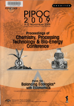 Palm Oil: Proceedings of chemistry, processing technology & bio energy conference