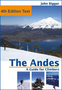 The Andes  a Guide For Climbers  Complete Guide PDF