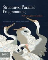 Structured Parallel Programming PDF