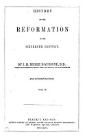History of the Reformation of the Sixteenth Century PDF