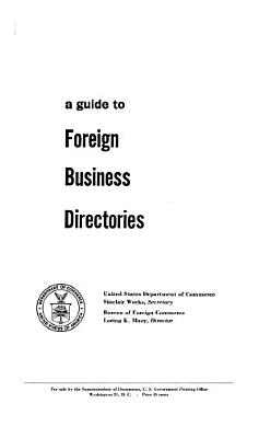 A Guide to Foreign Business Directories
