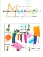 Integrating Music into the Elementary Classroom  Media Edition PDF