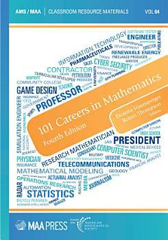 101 Careers in Mathematics  Fourth Edition PDF