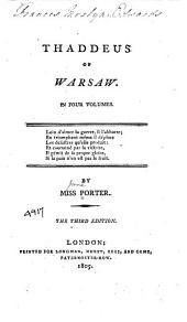 Thaddeus of Warsaw: Volume 3